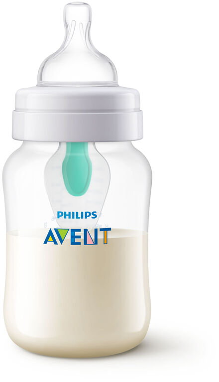 Philips Avent Anti-colic Baby Bottle with AirFree Vent 9oz, 1-Pack