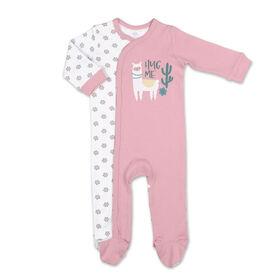 Dormeuse Koala Baby, Pink LLama, 3-6 Mois