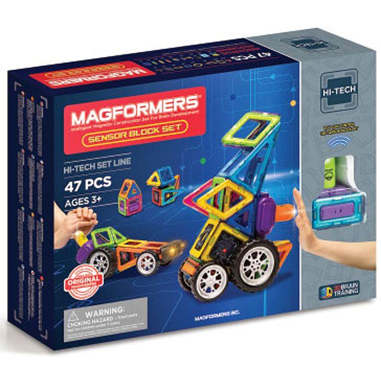 Magformers - Sensor Block 47 Piece Set