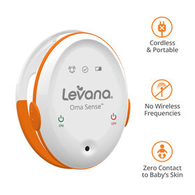 Levana Oma Sense Baby Breathing Movement Monitor with Vibrations and Audible Alerts