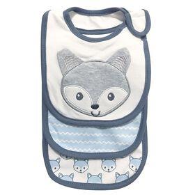 KOALA BABY Emballage de 3 bavoirs en tricot de jersey nouveau nee