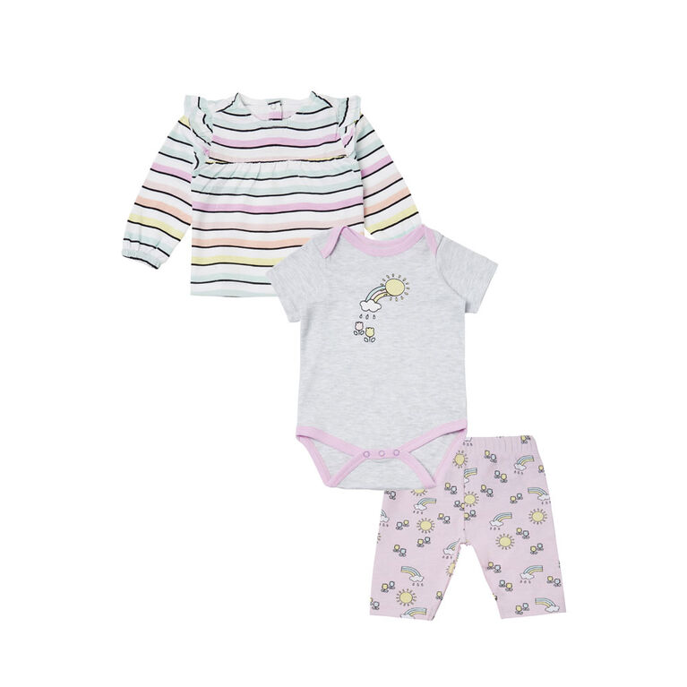 earth by art & eden Anaise 3-Piece Set- 6 months