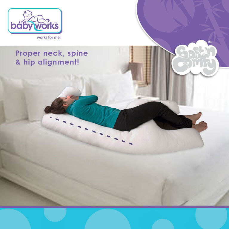 Baby Works Maternity & Beyond 3-in-1 Maternity Pillow