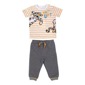 Disney Tigger 2-Piece Pant Set - Grey, 18 Months