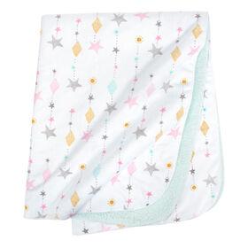 Just Born Love & Sugar Plush Blanket