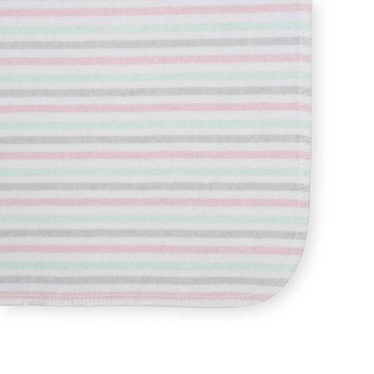 Koala Baby 8-Pack Washcloth, Pink Floral