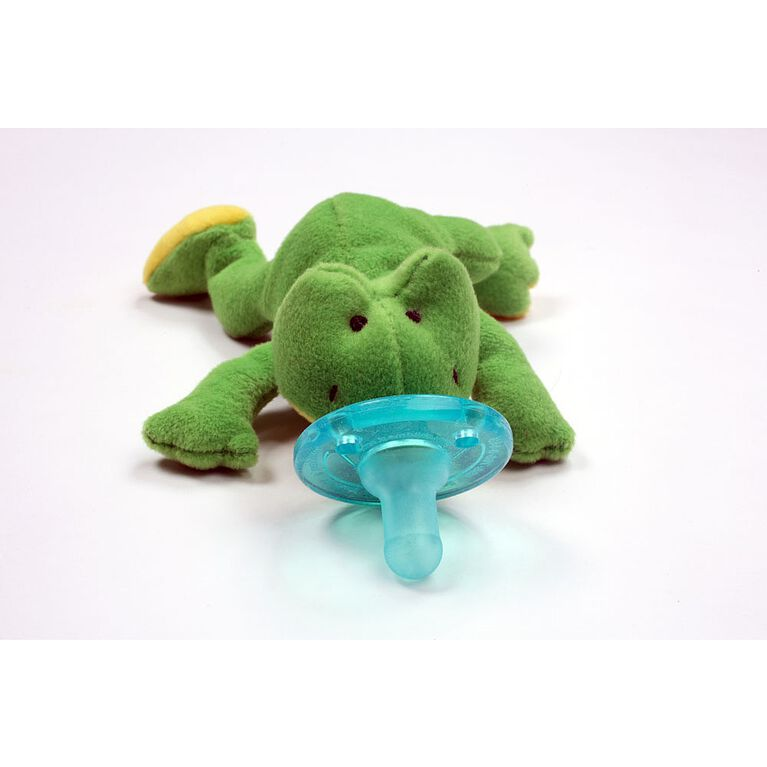 WubbaNub Pacifier - Green Frog