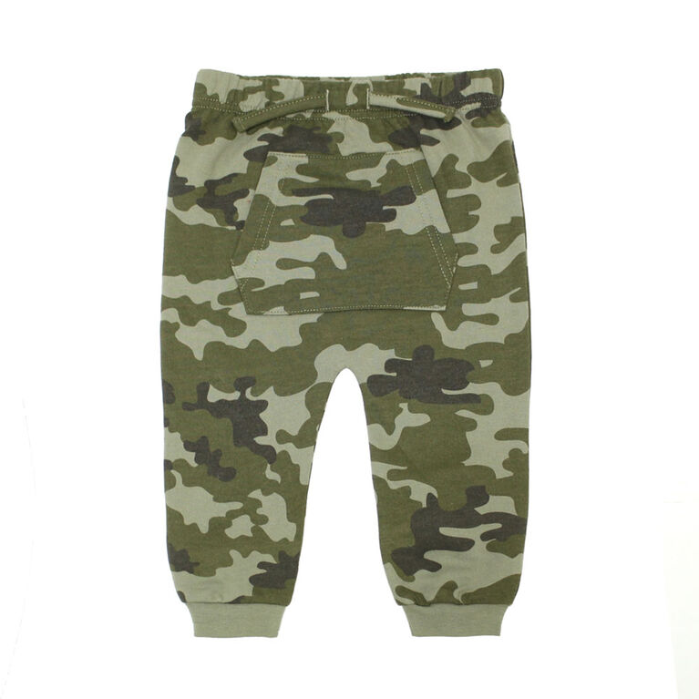 Pantalons Du Sport Avec De Poche Kangourou Koala Bebe Garcons - Camouflage, 6 Mois