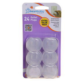 Dreambaby Outlet Plugs - 24-Pack