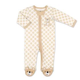 Dormeuse Koala Baby, Dots & Teddy Bear, 0-3 Mois