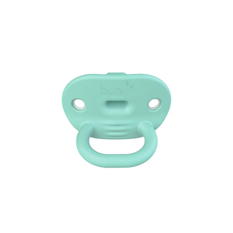 Boon JEWL Orthodontic Silicone Pacifier Stage 2 - 2 pack - Teal