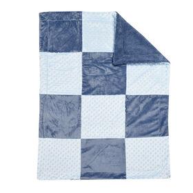 Koala Baby Baby Blanket - Patchwork Blue
