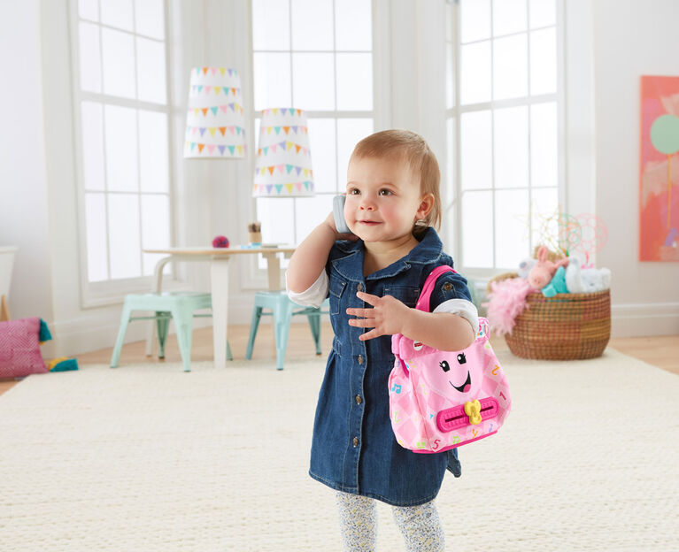 Fisher-Price Laugh & Learn My Smart Purse - English Edition