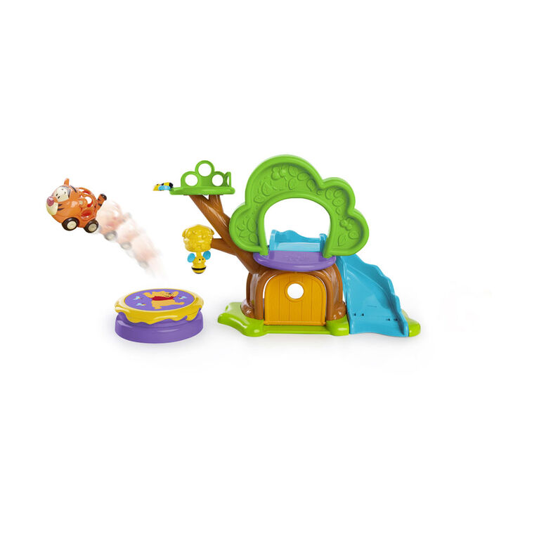 Disney Baby Winnie The Pooh Treehouse Playset