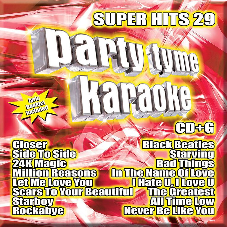 CD - Party Tyme Karaoke: Super Hits 26