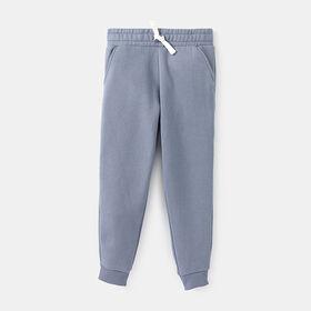 just chillin' fleece jogger , size 12-18m - Blue