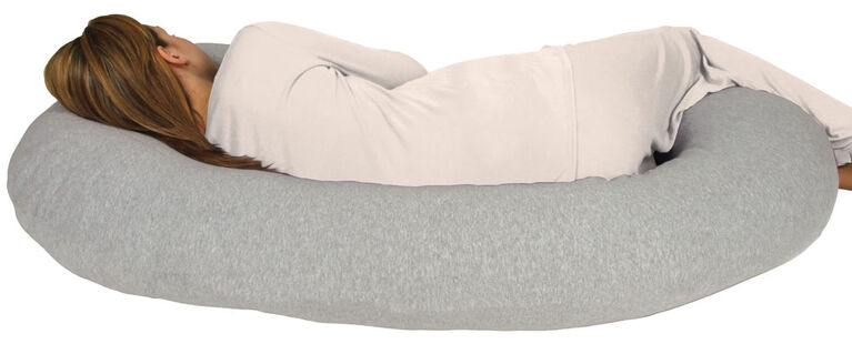 Leachco Snoogle Chic Jersey - Heather Grey