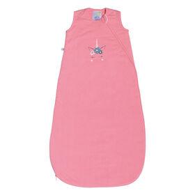 Sac de nuit en tricot matelassé 1 TOG - Licorne rose, 6-18 Mois Perlimpinpin.