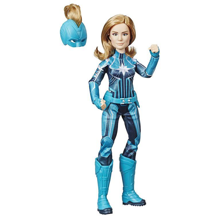 Marvel Captain - Poupée Capitaine Marvel (Starforce) avec casque.
