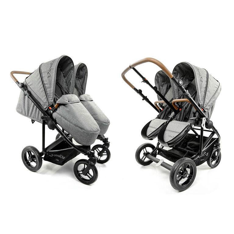 StrollAir TWIN WAY double / twin stroller