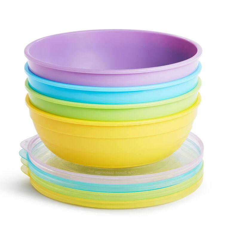 Munchkin Love A Bowls, 4-Pack