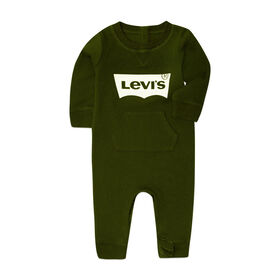 Levis Coverall - Olive, 3 Months