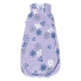 Perlimpinpin Plush sleep bag 1,5 TOG- Flowers, 6-18 Months