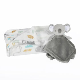 Baby's First 2 Piece Baby Blanket and Buddy Set - Koala