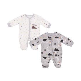 Paquet De 2 Dormeuses Koala Baby Étoiles 0-3 Mois