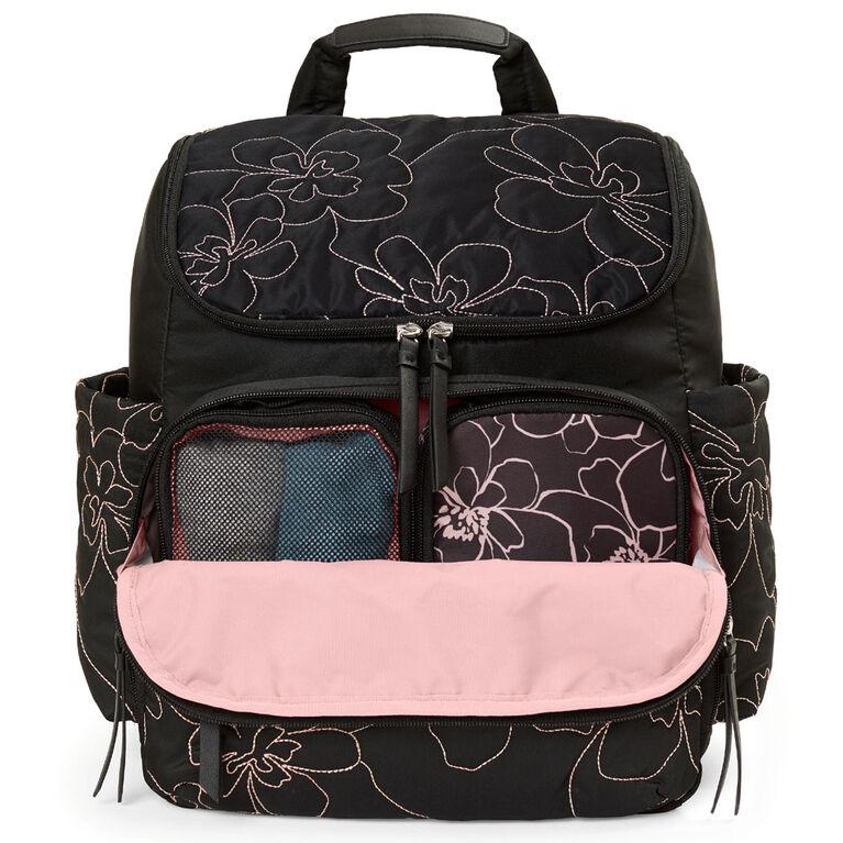 Skip Hop Forma Diaper Backpack - Floral Quilt