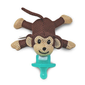"""babyworks Pacifier Friend with Pacifier - """"Moe"""" Monkey"""