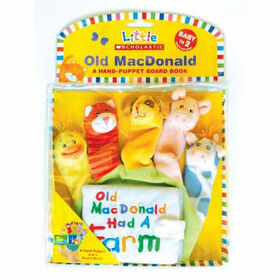 Old MacDonald Puppet Book - English Edition