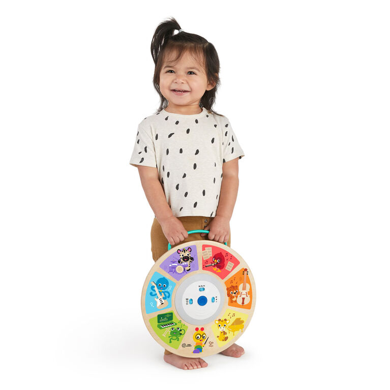 Cal's Smart Sounds Symphony Magic Touch Wooden Electronic Activity Toy