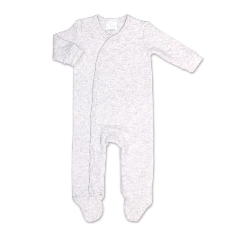Koala Baby Heather Grey Quilted Sleeper-Size 6-9 Months