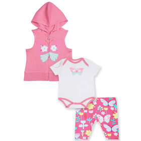 earth by art & eden Arden 3-Piece Set- 12 months