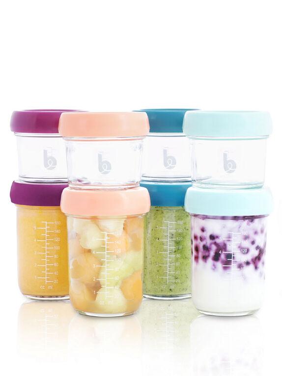 Babybowls Glass - 8 pieces + Recipes Book