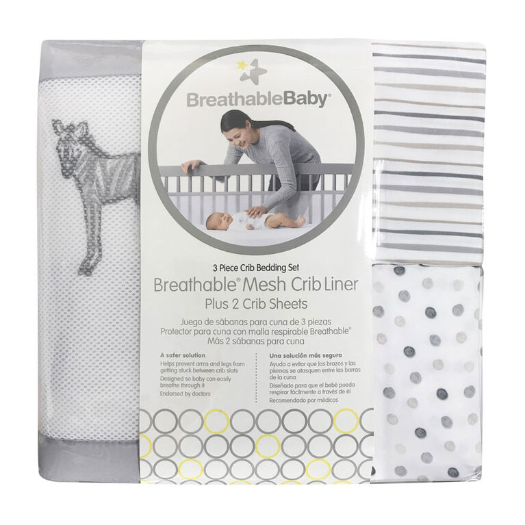 Breathable Baby 3Pc Set-Watercolorbabies