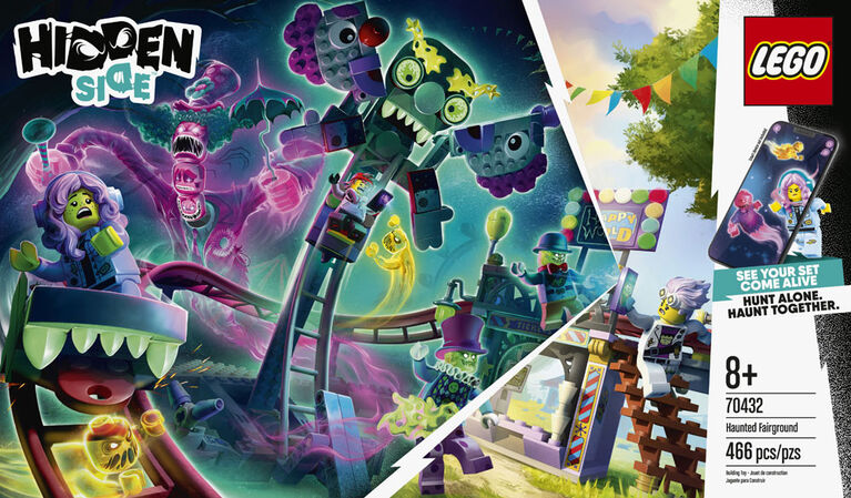 LEGO Hidden Side La fête foraine hantée 70432