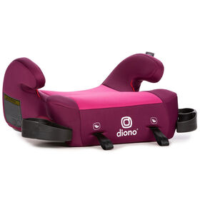 Diono Solana 2 Backless Booster Seat  -  Pink.