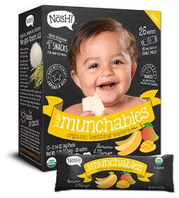 NOSH - Munchables de bébé - Banane et mangue.