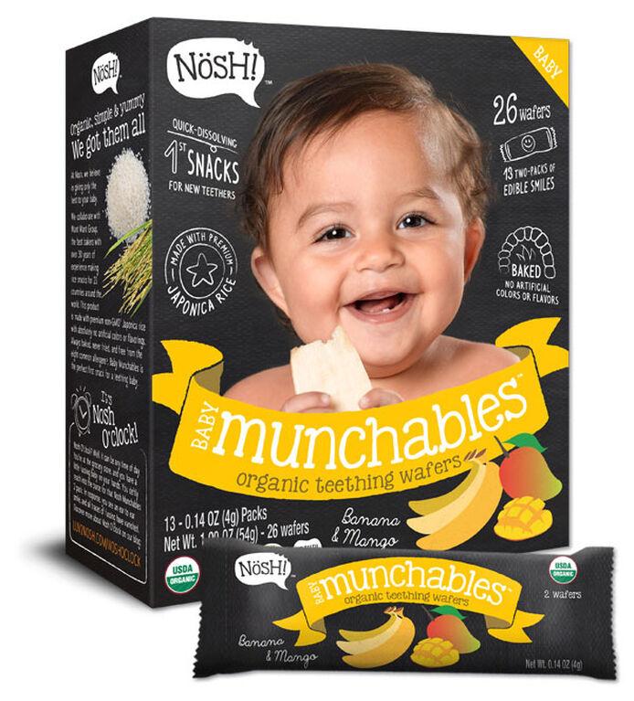 NOSH - Baby Munchables Banana & Mango