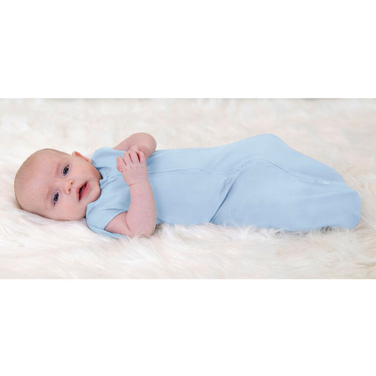 Aden + Anais Essentials 2-Pack Easy Swaddle Snugs Twinkling Stars Blue 0-3M