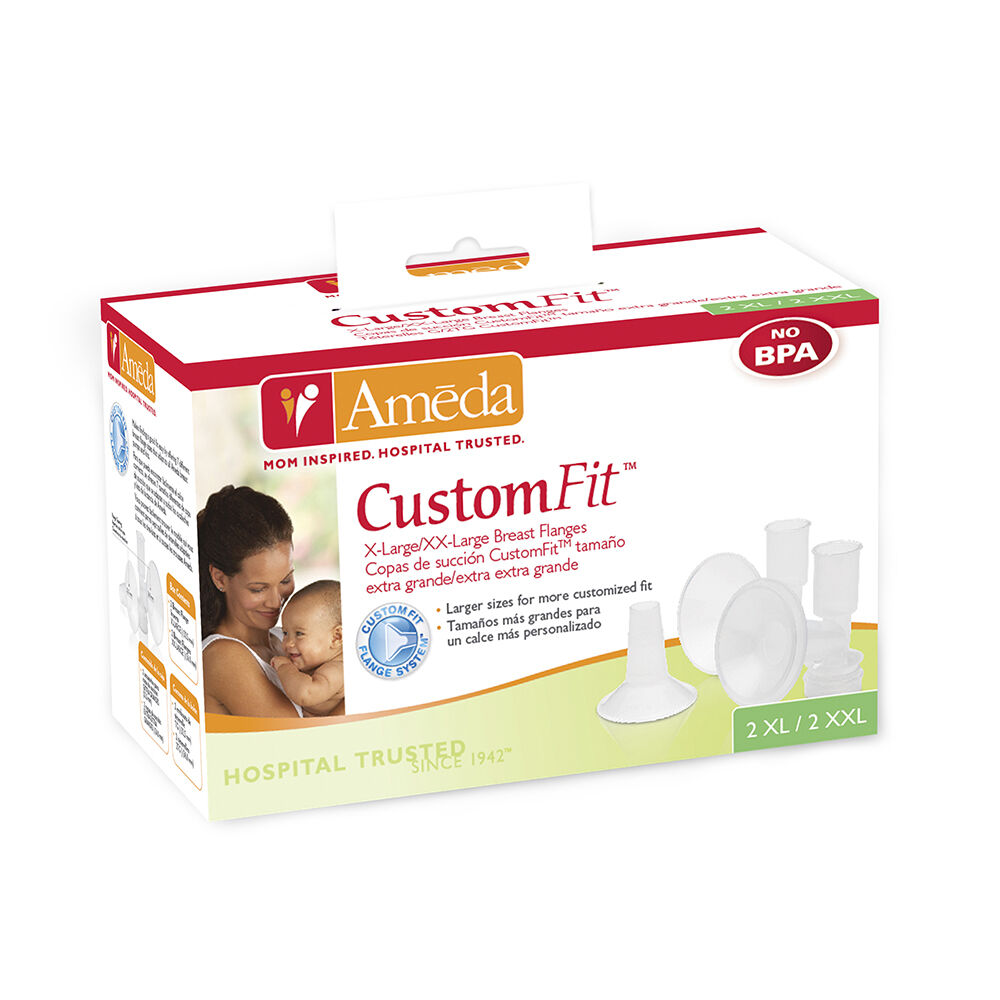 Ameda CustomFit Breast Flanges XL//XXL
