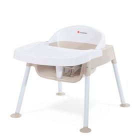 Foundations – Chaise de repas de 23 cm Secure Sitter – Havane et blanc.