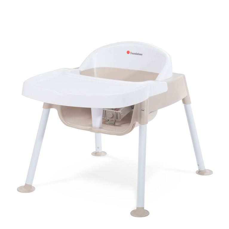 Foundations Secure Sitter 9 Feeding Chair - Tan/White