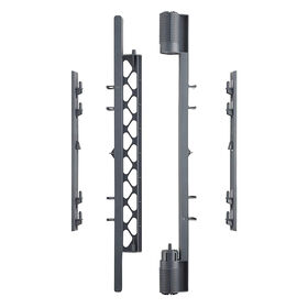 North States Superyard Wall Mount Kit - Grey