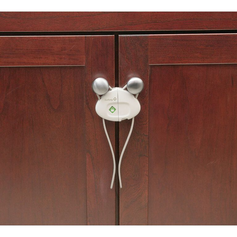 Safety 1st verrou coulissant pour armoire Side by Side.