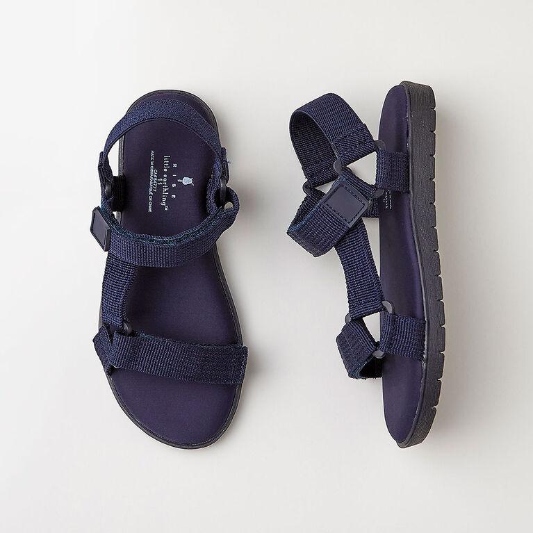 odyssey sandal, size 8 - navy