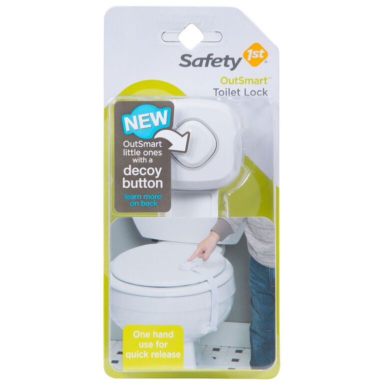 Verrou pour toilette Outsmart de Safety 1st.