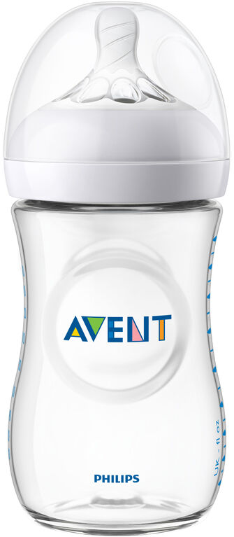 Philips Avent Natural Baby Bottle 5-Pack 9z - Clear